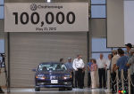 100,000th Passat built in Chattanooga