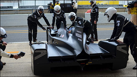 DeltaWing Nissan