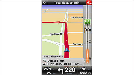 TomTom (v1.10) pour iPhone