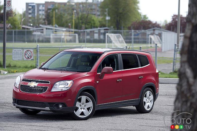 2012 Chevrolet Orlando Ltz Car Reviews Auto123