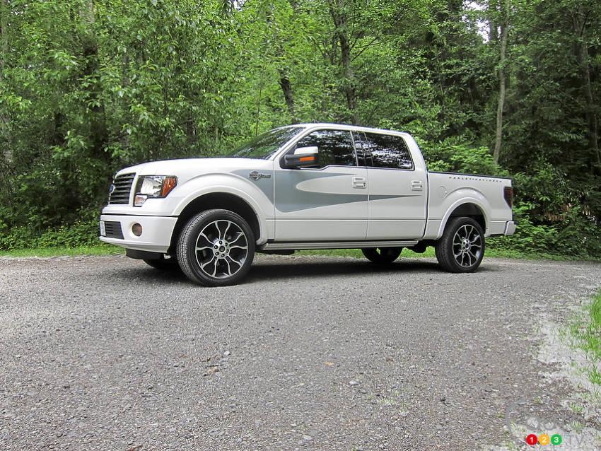 2012 ford f 150 harley davidson car news auto123. Black Bedroom Furniture Sets. Home Design Ideas
