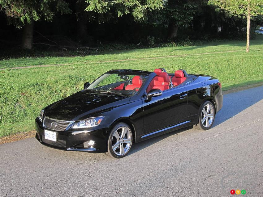 lexus is 250 c dition sp ciale 2012 actualit s automobile auto123. Black Bedroom Furniture Sets. Home Design Ideas