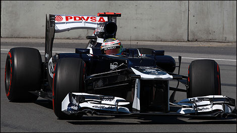 Williams F1 Pastor Maldonado