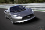 Infiniti Emerg-e show car makes world debut at Goodwood