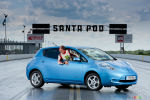 La Nissan LEAF �tablit son record en marche arri�re