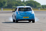 Nissan LEAF is the fastest in reverse!