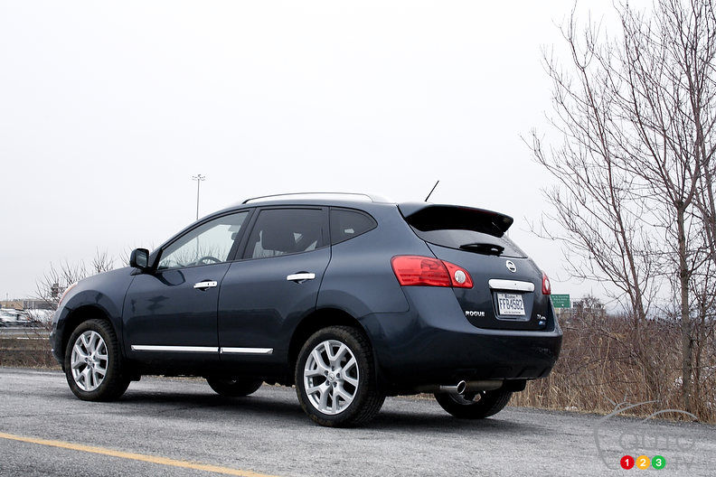 2012 nissan rogue sl awd car reviews auto123. Black Bedroom Furniture Sets. Home Design Ideas