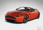 First pictures of the Aston Martin V12 Vantage Roadster