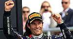 F1: Red Bull confirme Mark Webber pour 2013