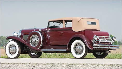 une duesenberg sj 1930 vendre pour 1 million actualit s automobile auto123. Black Bedroom Furniture Sets. Home Design Ideas