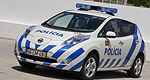 Nissan LEAF Police Car to patrol Portuguese streets
