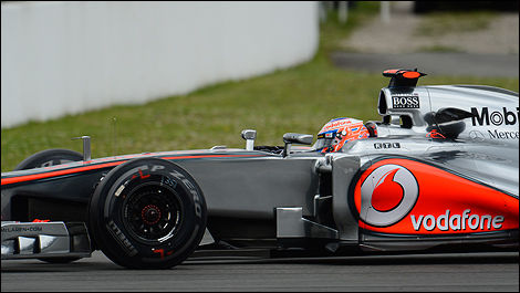 Jenson Button German F1 GP 2012