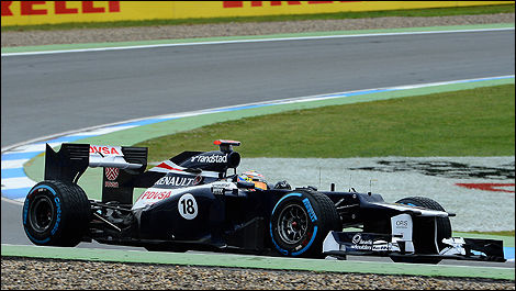Pastro Maldonado, Williams German F1 GP 2012