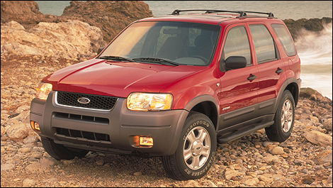 Ford Escape 2001 vue 3/4 avant