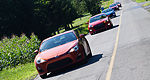2012 Compact performance car track comparison test