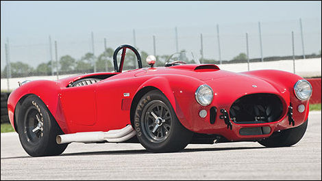Shelby 427 Competition Cobra 1965 vue 3/4 avant