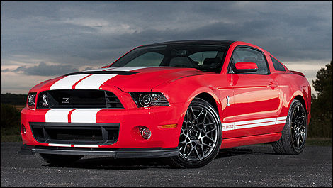 Ford Mustang Shelby GT 500 2013 vue 3/4 avant
