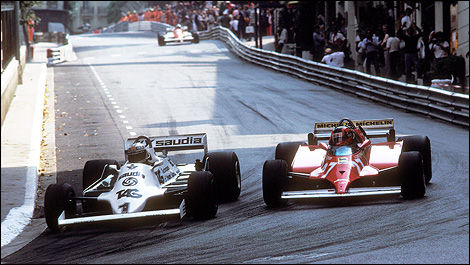 Alan Jones, Gilles Villeneuve, F1, Ferrari, Williams