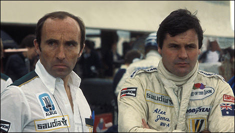 Frank Williams, Alan Jones, F1