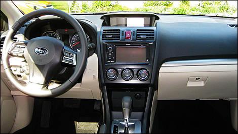 2013 subaru xv crosstrek first impressions editor 39 s review - Subaru crosstrek interior lighting ...