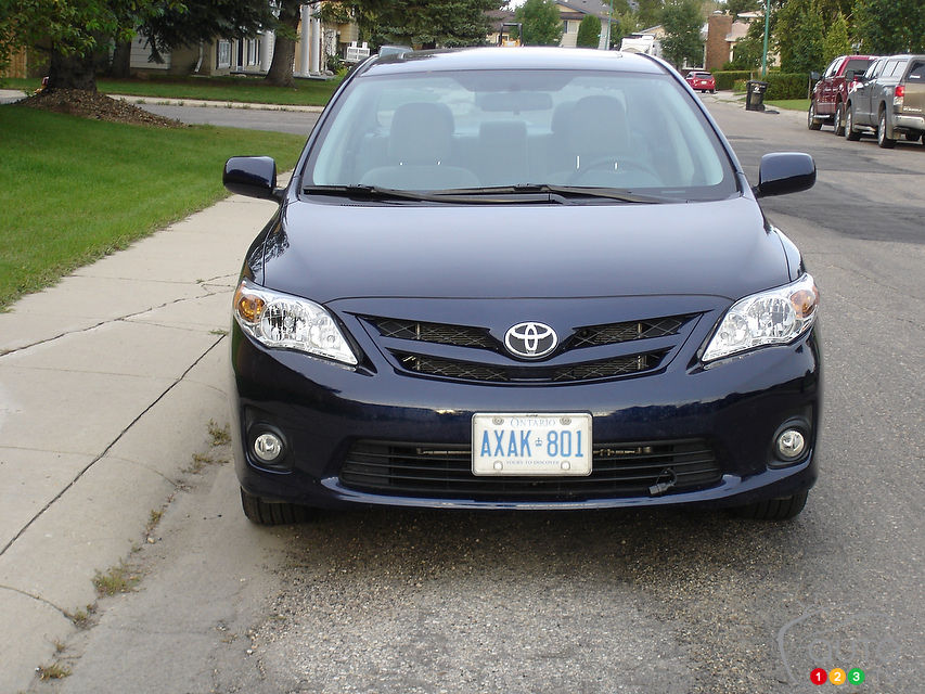 Review Highlights. 2012 Toyota Corolla LE
