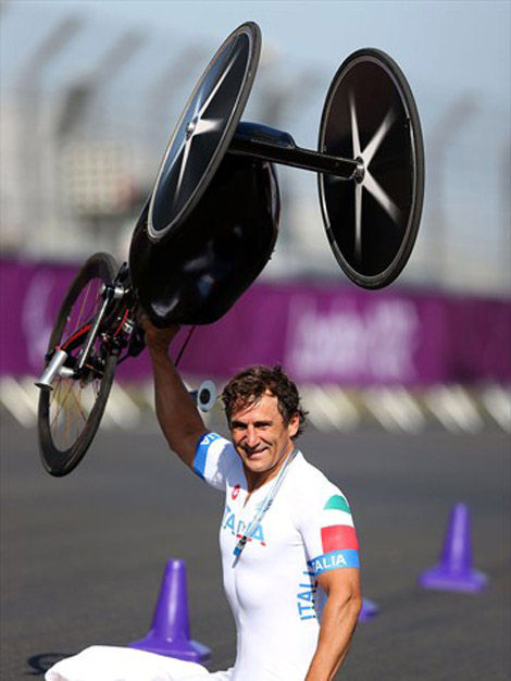 Alex Zanardi (Photo: London Paralympic Games)