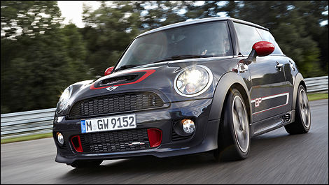 MINI John Cooper Works GP vue 3/4 avant