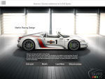 Porsche 918 Spyder official brochure now online