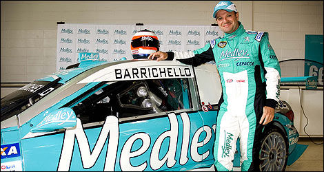 Rubens Barrichello Stock Car