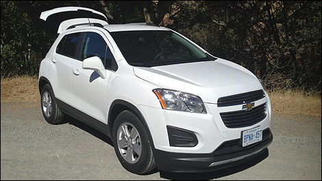 2013 Chevrolet Trax front 3/4 view