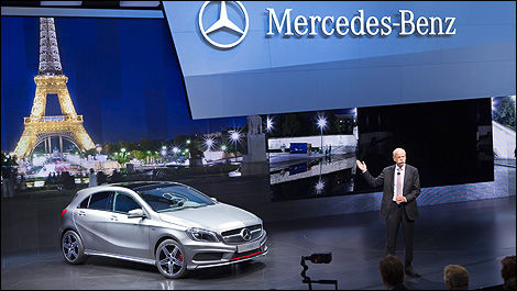 Mercedes-Benz au Mondial de Paris