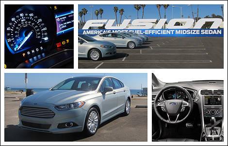 Ford Fusion Hybride 2013 Premi 232 Res Impressions Essai