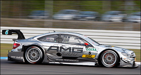 DTM Mercedes C-Coupe Jamie Green