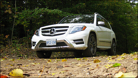 Mercedes-Benz GL 550 4MATIC vue 3/4 avant