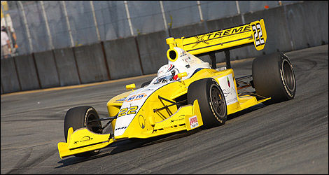 Indy Lights Mikael Grenier