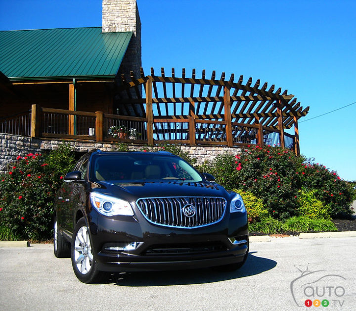 2013 Buicks: Buick Enclave 2013