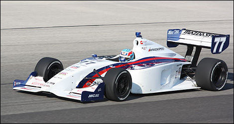 Indy Lights Tristan Vautier 2012 Champion