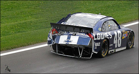 NASCAR Jimmie Johnson Chevrolet