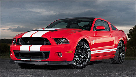 Ford Shelby GT500 2013 vue 3/4 avant