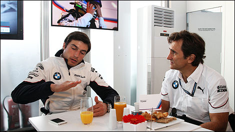 DTM BMW Bruno Spengler Alex Zanardi