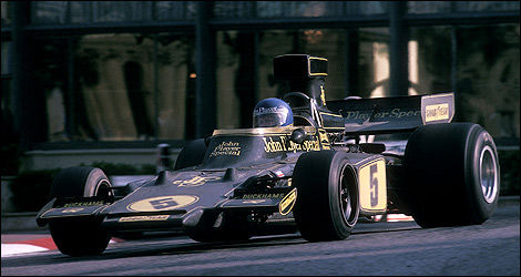 F1 Ronnie Peterson Lotus Ford-Coswroth Monaco