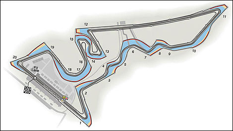 Circuit of the Americas, Austin USA