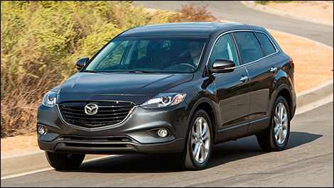 2013 Mazda CX-9 front view