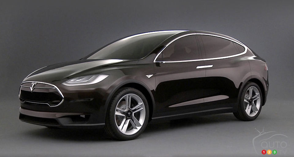 tesla model x 2014 aper u actualit s automobile auto123. Black Bedroom Furniture Sets. Home Design Ideas