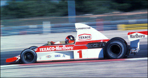 F1 McLaren Emerson Fittipaldi France 1975