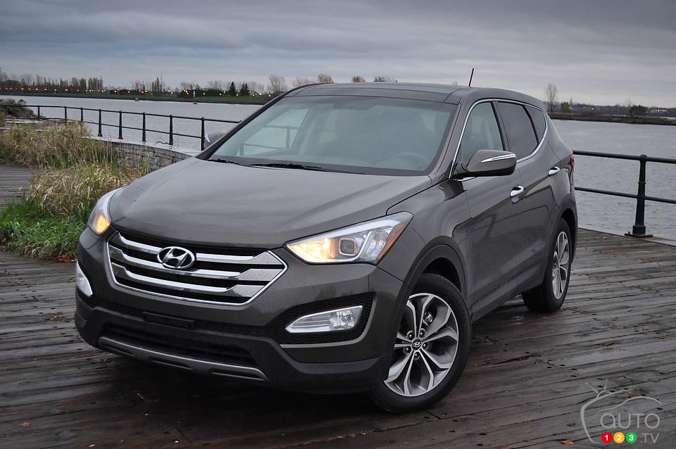 Nice Review Highlights. 2013 Hyundai Santa Fe ...