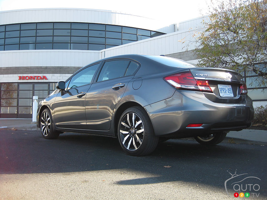 Review Highlights. 2013 Honda Civic Touring