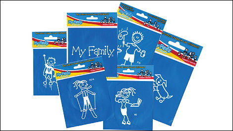 Family Stickers 2012