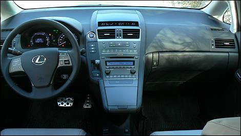 lexus hs 250h 2010 interior