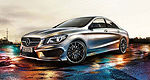 First official pictures of the Mercedes-Benz CLA